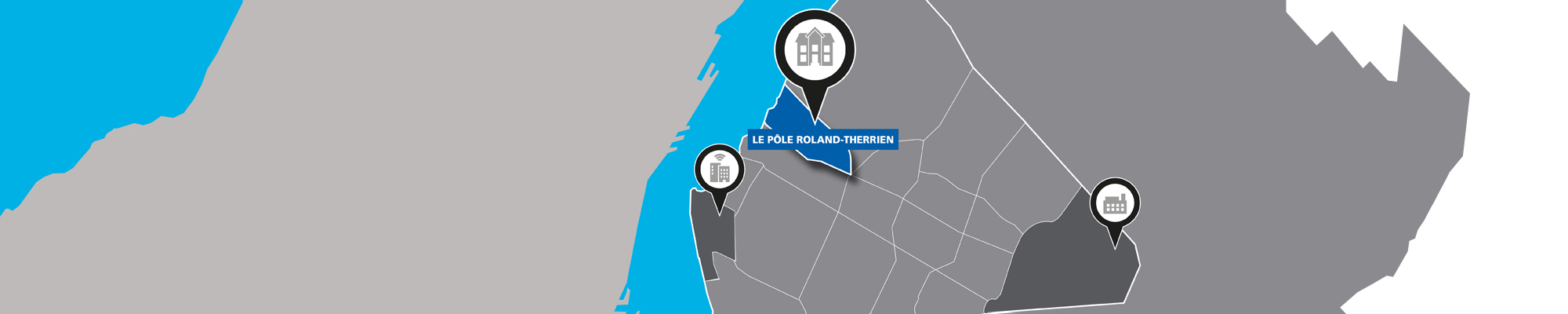 carte interactive secteur Roland-Therrien